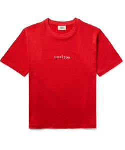 Everest Isles | Horizon Printed Cotton-Jersey T-Shirt