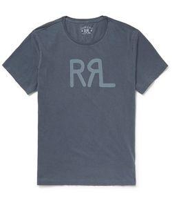 RRL | Printed Cotton-Jersey T-Shirt