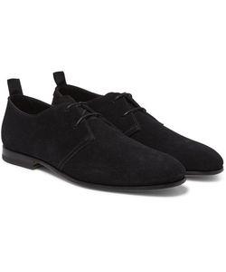 HELBERS   Suede Derby Shoes