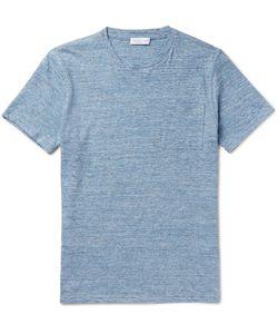 RICHARD JAMES | Slim-Fit Mélange Cotton-Jersey T-Shirt