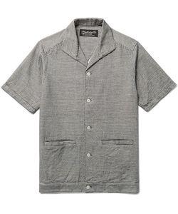 Neighborhood | Le Mal Camp-Collar Embroidered Cotton Shirt