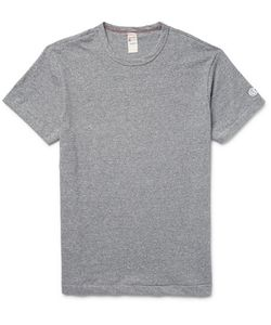 Todd Snyder + Champion | Slim-Fit Mélange Cotton-Jersey T-Shirt