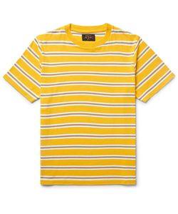 Beams Plus | Striped Cotton-Jersey T-Shirt