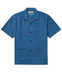 OUTERKNOWN | Cayman Camp-Collar Cotton-Jacquard Shirt