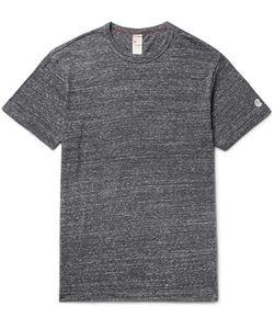 Todd Snyder + Champion | Todd Snyder Champion Mélange Cotton-Blend Jersey T-Shirt