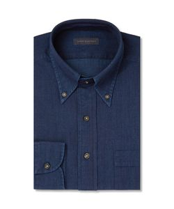 Thom Sweeney | Indigo Chambray Shirt