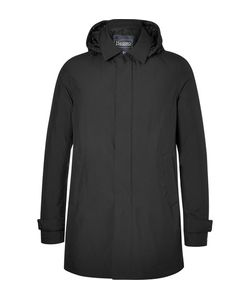 Herno Laminar   Hooded Waterproof Gore-Tex Shell Down Coat