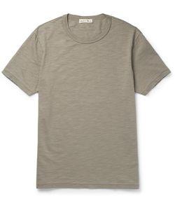 ALEX MILL | Slub Cotton-Jersey T-Shirt