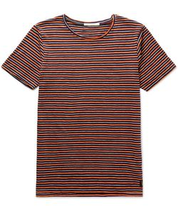Nudie Jeans Co | Ove Striped Organic Cotton-Jersey T-Shirt