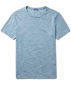 Club Monaco | Space-Dyed Knitted Cotton T-Shirt