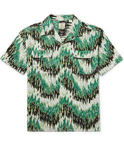 Levi'S Vintage Clothing | Camp-Collar Slub Cotton And Linen-Blend Shirt