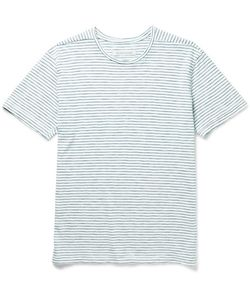 OUTERKNOWN | Typhoon Slim-Fit Striped Slub Cotton-Jersey T-Shirt