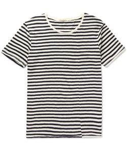 Nudie Jeans Co | Ove Striped Slub Organic Cotton-Jersey T-Shirt Off-