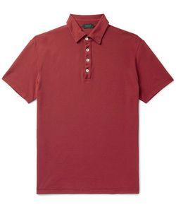 Incotex | Slim-Fit Cotton-Piqué Polo Shirt