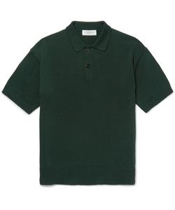 Tomorrowland | Knitted Cotton Polo Shirt