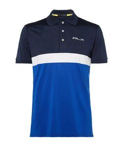 RLX Ralph Lauren | Slim-Fit Colour-Block Stretch-Piqué Golf Polo Shirt