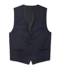 HUGO BOSS | Wilson Slim-Fit Super 120s Virgin Wool Waistcoat