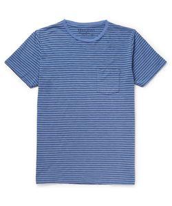 Hartford | Striped Cotton-Jersey T-Shirt