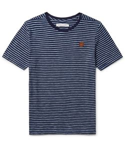OUTERKNOWN | Happy Striped Cotton T-Shirt