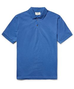 Everest Isles | Shell-Trimmed Cotton-Piqué Polo Shirt
