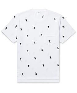 Thom Browne | Penguin-Appliquéd Cotton-Piqué T-Shirt
