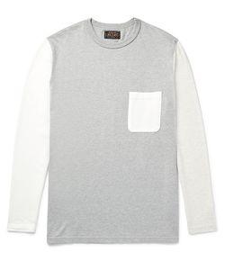 Beams Plus | Colour-Block Cotton-Jersey T-Shirt