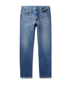 Orslow | 107 Slim-Fit Washed Selvedge Denim Jeans