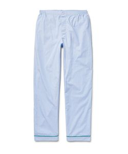 Sleepy Jones | Marcel End-On-End Cotton Pyjama Trousers