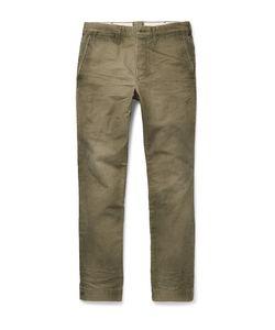 Fabric-Brand & Co | Tiberias Slim-Fit Cotton Chinos