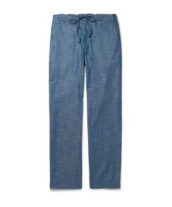 Freemans Sporting Club | Cotton-Chambray Drawstring Trousers