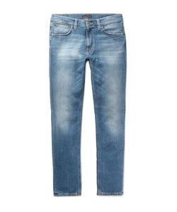 Nudie Jeans Co | Lean Dean Slim-Fit Organic Stretch-Denim Jeans Mid
