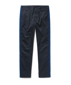 Engineered Garments | Prospect Canvas-Panelled Cotton-Twill Trousers