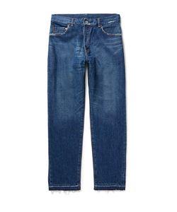 Beams   Distressed Denim Jeans
