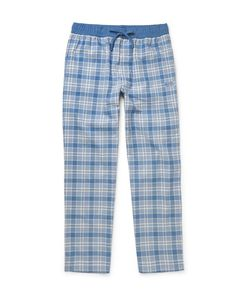 HUGO BOSS | Checked Brushed Cotton-Twill Pyjama Trousers