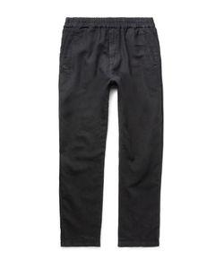 Folk | Linen And Cotton-Blend Drawstring Trousers