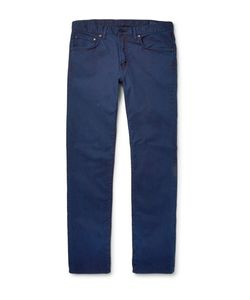Blue Blue Japan | Slim-Fit Stretch-Cotton Twill Jeans