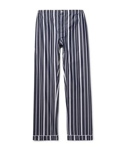 Sleepy Jones | Marcel Striped Cotton Pyjama Trousers