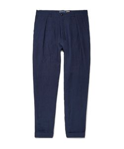 Blue Blue Japan | Tapered Linen Trousers