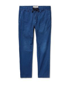 Remi Relief | Slim-Fit Cotton-Ripstop Drawstring Trousers