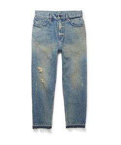 John Elliott | Distressed Denim Jeans