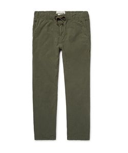 Remi Relief | Cotton-Ripstop Drawstring Trousers