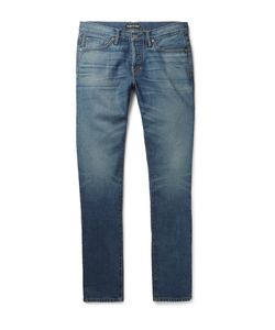 Tom Ford | Slim-Fit Washed-Denim Jeans