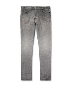 John Elliott | The Cast 2 Slim-Fit Tapered Distressed Denim Jeans