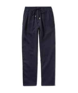 Vilebrequin | Pacha Brushed-Linen Drawstring Trousers