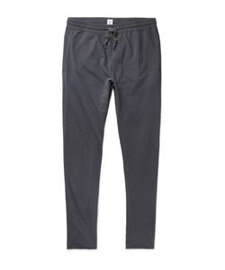 Schiesser | Anton Tapered Loopback Cotton-Jersey Sweatpants