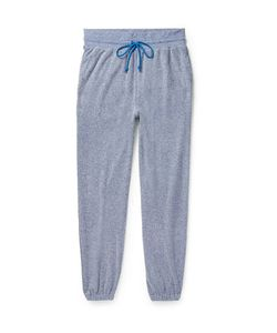 John Elliott | Pile Mélange Cotton-Blend Terry Sweatpants