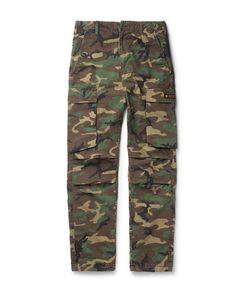 Neighborhood | Camouflage-Print Cotton-Ripstop Trousers