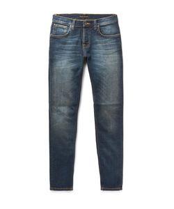 Nudie Jeans Co | Lean Dean Slim-Fit Organic Stretch-Denim Jeans Dark