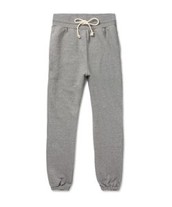 John Elliott | Slim-Fit Tapered Loopback Cotton-Blend Jersey Sweatpants