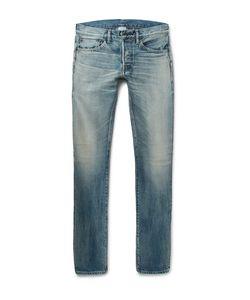 Fabric-Brand & Co | Slim-Fit Selvedge Denim Jeans